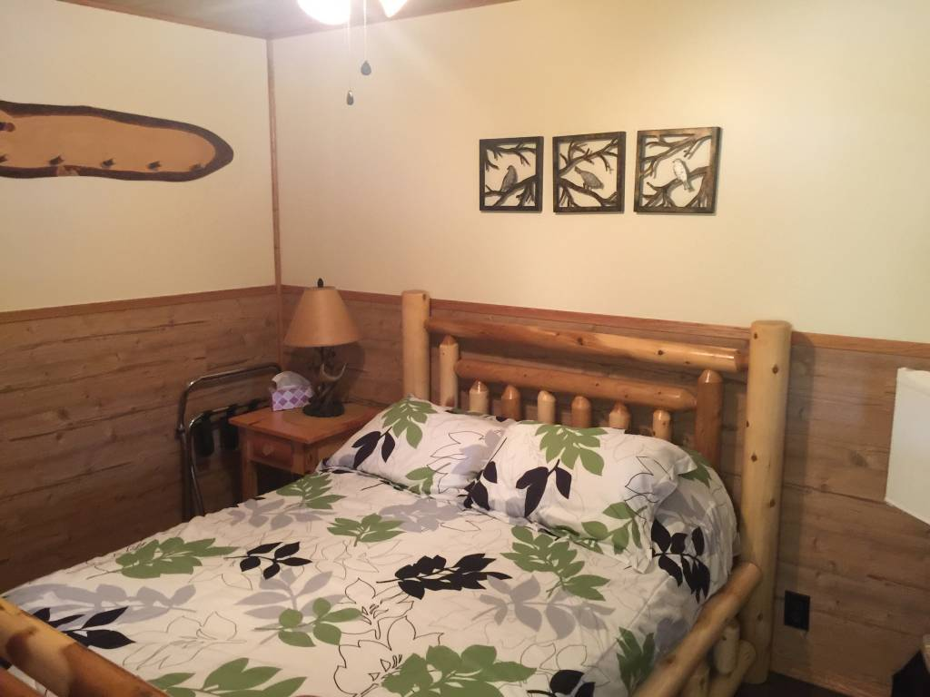 Motel Room with 2 full beds
